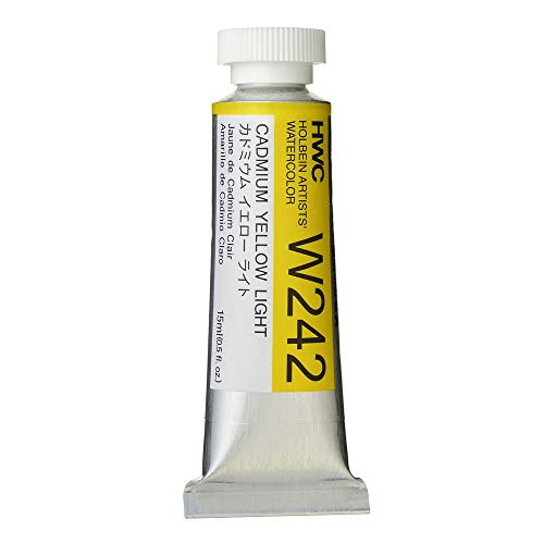Holbein Artist's Watercolor 15ml Tube (Cadmium Yellow Light) W242