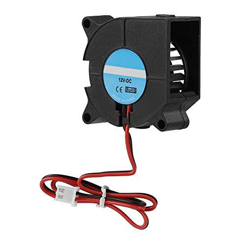 Zerone Ventilador de enfriamiento de la Impresora 3D DC 12 V Ventilador del disipador de Calor Ventilador del radiador Turbo(12V)