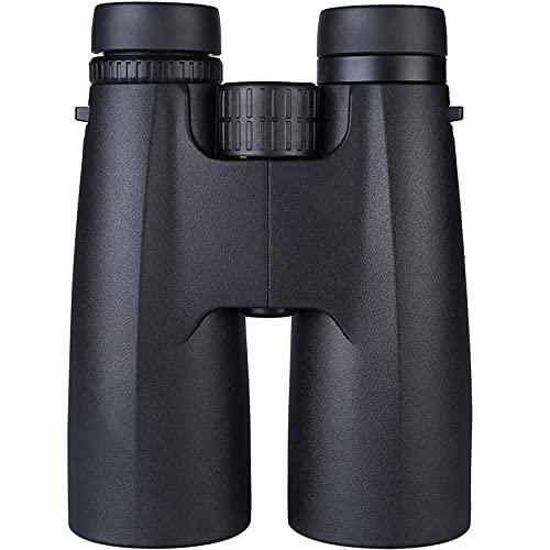 DZCGTP Binoculares 12X50, binoculares compactos portátiles e Impermeables con para observación de Aves, Camping, Senderismo