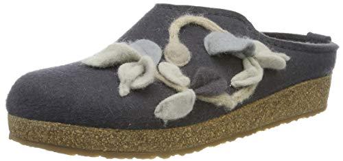 Haflinger Damen Venus Pantoffeln, Grau (Asphalt 58), 38 EU