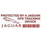 <span class='highlight'>Platinum</span> <span class='highlight'>Place</span> 5 x PPJAGUAR<span class='highlight'>GPS</span>RED <span class='highlight'>GPS</span> RED onto CLEAR <span class='highlight'>Tracking</span> <span class='highlight'>Device</span> Security WINDOW Stickers 87x30mm-Car,Van Alarm Tracker