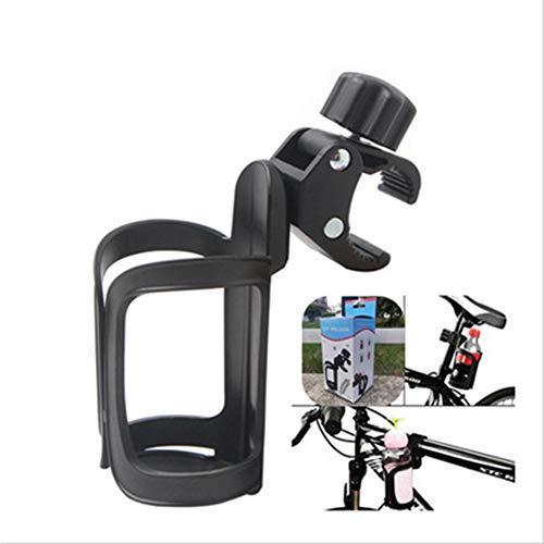 APPLL Kinderwagen-Becherhalter, Universal 360 Grad Rotation Bike Getränk Flaschenhalter für Kinderwagen Fahrrad Fahrräder und Rollstühle