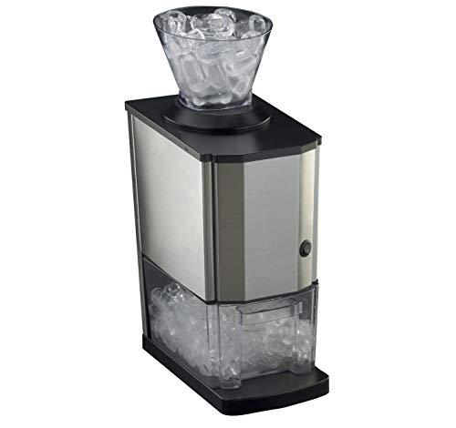 RGV Mojito Junior - Spaccaghiaccio elettrico, 80 Watt, c.a. 20 kg/h, Acciaio Inox
