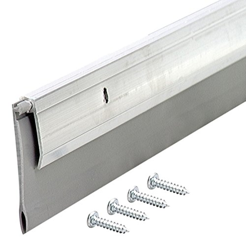 M-D Building Products, Aluminum 5389 Heavy Duty Door Sweep EXV, 36 Inches, 36