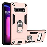 Compatible with LG V60 ThinQ 5G Case TPU + PC Bumper Hybrid