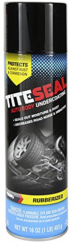 Tite-Seal TITESEAL by GUNK T1617R Rubberized Auto Body Undercoating - 16 oz.