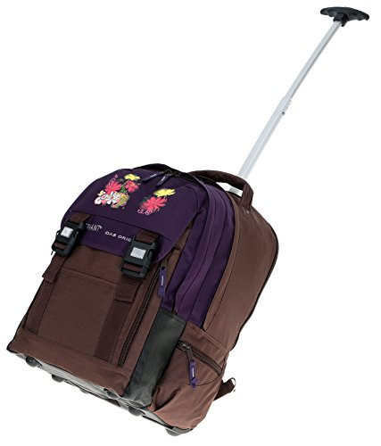 ELEPHANT Trolley XL Schultrolley Ruckstrolley Trolly Violetta