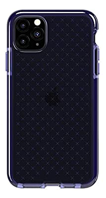 Tech21 EVO Check Funda Protectora Fina Rígida para iPhone 11 Pro MAX - Índigo