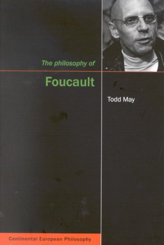 Compare Textbook Prices for Philosophy of Foucault Continental European Philosophy Series Volume 8 1 Edition ISBN 9780773531697 by May, Todd