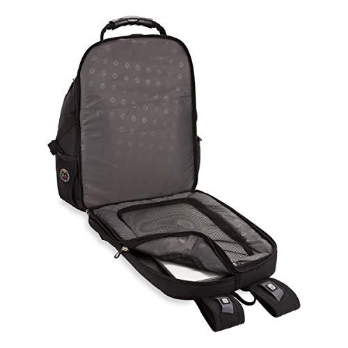 Swiss Gear SA1923 Black TSA Friendly ScanSmart Laptop Backpack - Fits Most 15 Inch Laptops and...