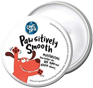 Captain Zack - Pawsitively Smooth Paw Butter - for Cracked and Chapped Paws - Natural Moisturizer, 100 Grams