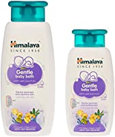 Himalaya Gentle Baby Bath, 400 ml + 200 ml FREE