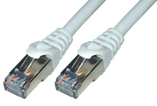 Mcl Samar C?ble Rj45 Cat 6a 1m Gris Patch cable rj