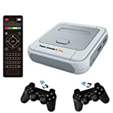 Super Console X Classic Retro Game Console Built-in 41,000+ Games,Gaming Consoles for 4K TV HDMI Output,2 Controllers,Support NES/N64/PS1/PSP,WiFi/LAN,Gifts for Best Friend (PRO-128GB)