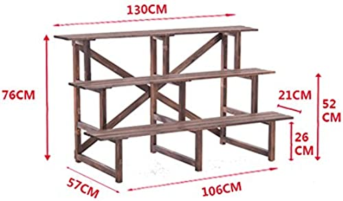 REGAL BOBE Shop- Multilayer Montage Boden Konservierungsmittel Holz Blaume Holz Wohnzimmer (Größe   76  57  106cm)