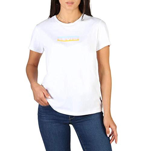 Levi's Levis - Maglietta da donna con logo Perfect Tee, taglia S