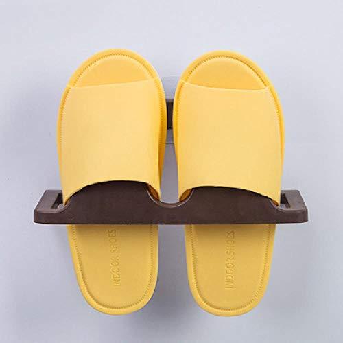 Chicya Zapatero autoadhesivo para zapatillas, sin taladro, zapatillas, organizador de zapatos, diseño impermeable