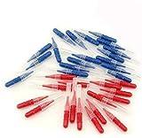 LKE 50pcs/Pack Interdental Brush Tooth Flossing Head Oral Dental Hygiene Brush...