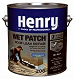 HENRY HE208042 Gal Roof Cement, 0.90 gal (3.41L),Black