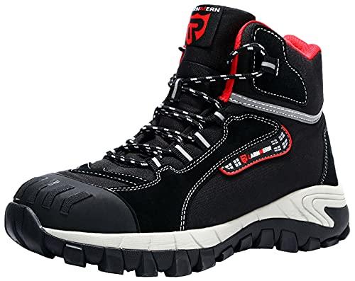 LARNMERN Steel Toe Boots