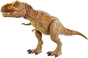 Jurassic World, Dinosauro T-Rex Ruggito Epico, con Suoni e Vibrazioni, Giocattolo per Bambini 4+ anni, GJT60