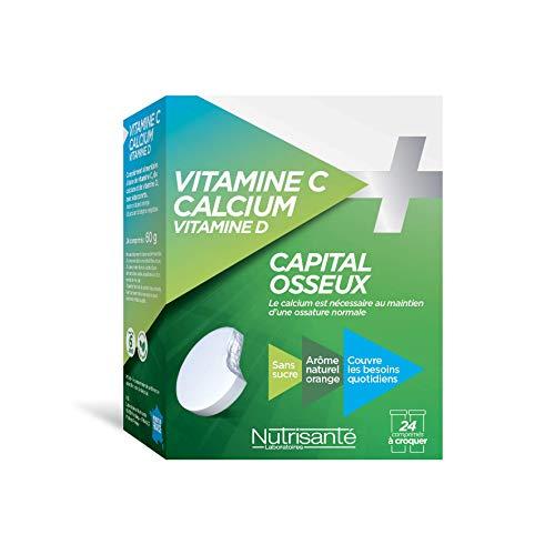 Nutrisanté vitamina C con calcio 24pastillas