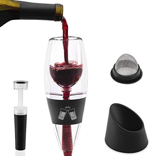 Wine Aerator Pourer | Classic Designer Premium Spout | Instant Diffuser | Get the Old Taste