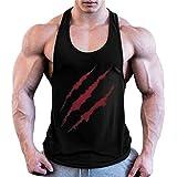 COWBI Hommes Musculation Débardeur Bodybuilding Stringer Training Tank Tops Sport T-Shirt Débardeur Toutes Les Tailles Et Les Couleurs
