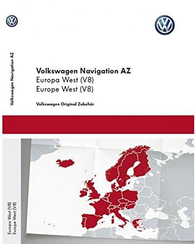Volkswagen Original VW Navi Navigationsdaten V8 Europa West - Update für RNS 315