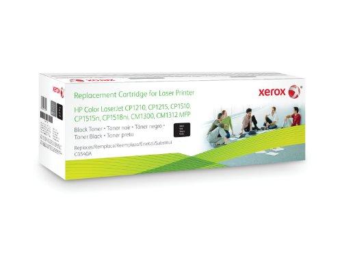 XEROX Original Toner schwarz fuer HP CLJCP1215 CP1515 CP1518 alternativ zu CB540A 2200 Seiten