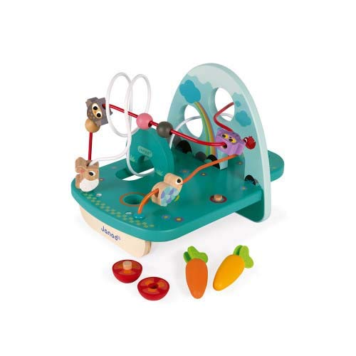 Janod Looping Lapin & CIE (Bois), J08254, Multicolore