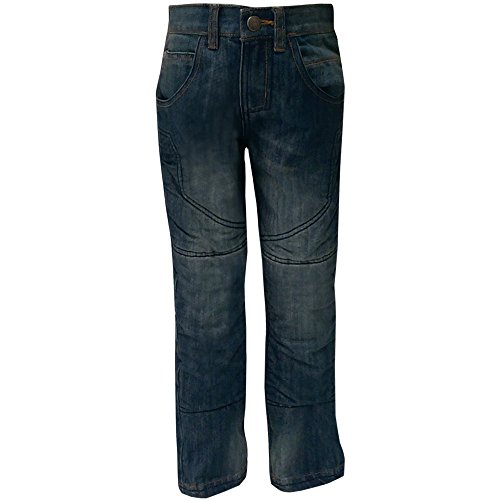 Bull-it Kids Ice Motobike Motocycle Blauw Jeans SR4 Broek 7/8yrs Blauw