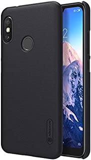 Nillkin Xiaomi Redmi Note 6 Pro Mobile Cover Super Frosted Hard Shield Phone Case - Black