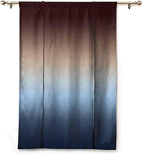 Wild One Curtain Cortinas Romanas A Media Sombra Ombreations Arte Decoración De Baño Protección De Privacidad Baño De Poliéster,W122 X H183 CM/48X72 Pulgada
