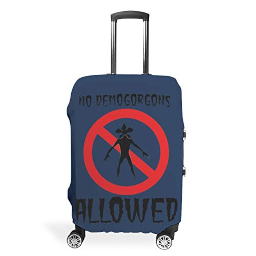 Demogorgon - Funda protectora para maleta de viaje (apta para maleta de 34 a 37 pulgadas)