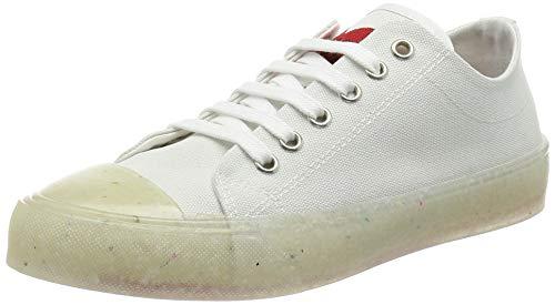 Love Moschino, Sneakers Da Donna, Collezione Primavera Estate Damen Sneaker Kollektion Frühling Sommer 2021, Bianco, 40 EU