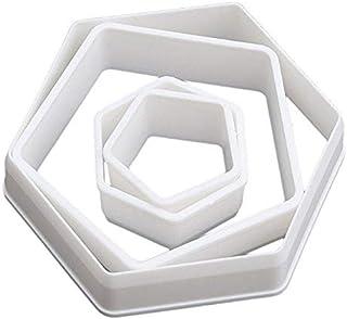 4pcs Tools Sugarcraft Football Plastic Fondant Cutter Cake Mold Fondant Mold Fondant Cake Decorating Tools