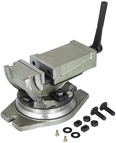OrangeA Precision Milling Vise 4 Inch Tilting Vise Swivel Base Angle Tilting 2 Way Inclinable product image