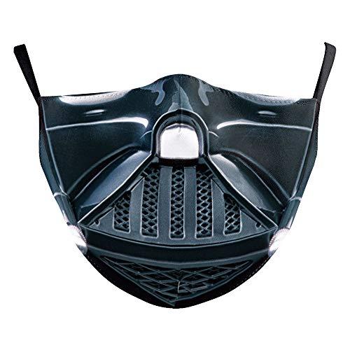Bosi General Merchandise 3D, Star Wars, Digitaldruck, staubdicht, Eisseidentextur, Filterelement, männliche und weibliche Schutzmasken