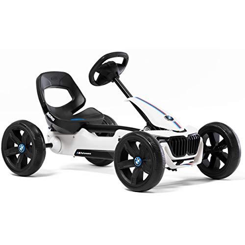 BERG Gokart Reppy BMW | KinderFahrzeug, Tretauto mit Optimale Sicherheid, Soundbox im Lenkrad, Kinderspielzeug geeignet für Kinder im Alter von 2.5-6 Jahren