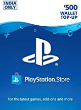 Rs.500 Sony PlayStation Network Wallet Top-Up (Code - Pay On Delivery Available)