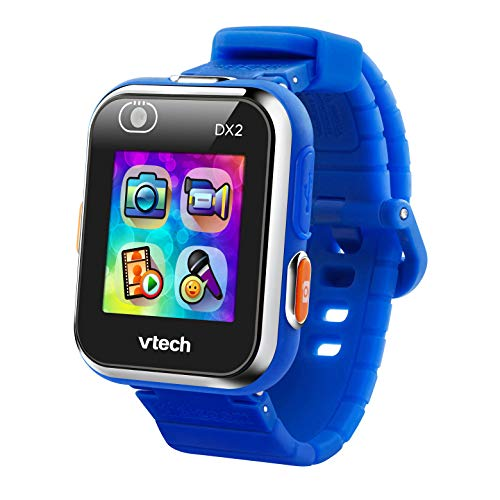 VTech- Kidizoom Smart Watch DX2 para Niños, Color azul, Estandar (80-182522)