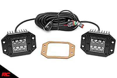 """Rough Country 2"""" Square Flush Mount CREE LED Light Cubes"""