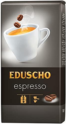 Eduscho Espresso Kaffee   Hochwertiger Kaffee aus ganzen Bohnen im 1000g Beutel   Ideal für Kaffeevollautomaten   Toller Geschmack von Eduscho