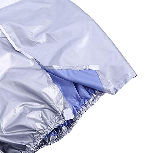 Denkerm Copri Climatizzatore, Pratico Copri Climatizzatore Impermeabile Anti- Quadrato Antipolvere per Condizionatori unità Esterna per Proteggere Il Condizionatore(2p)