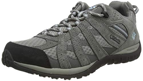Columbia Women's Redmond Trail Shoe, Boulder/Sky Blue, 10 M US