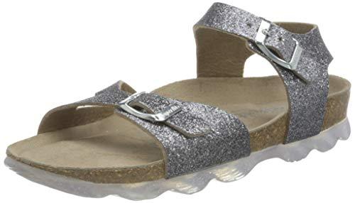 Superfit FUSSBETTPANTOFFEL Pantoffeln, Silber, 28 EU