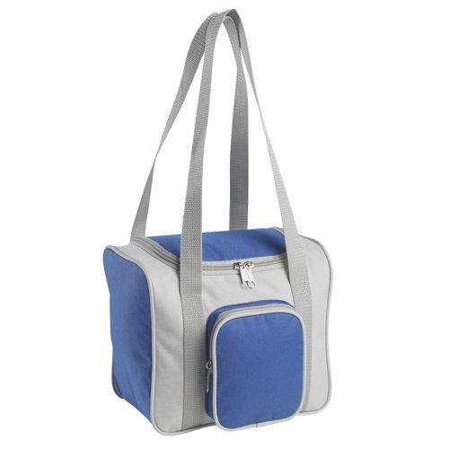 eBuyGB Isotherme Camping Pique-Nique/Repas Nourriture et Boisson Cooler Bag, Polyester, Gris, 27.79 x 22.2 x 3.4 cm