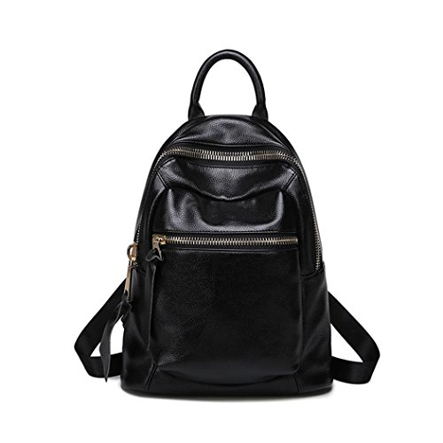 Sac à dos de mode en cuir occasionnels légers shopping sac à dos de voyage pour dames/étudiants