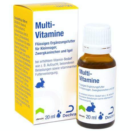 Multi-Vitamine (Kleinnager.)